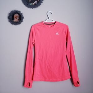 ADIDAS | Womans Climate Wear Top with Thumb Holes